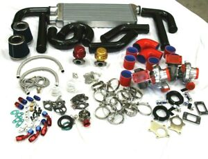 Super Twin Turbo Charger Kit For Chevy Camaro Ss Ls1 Ls5 Ls6 Small Big Block