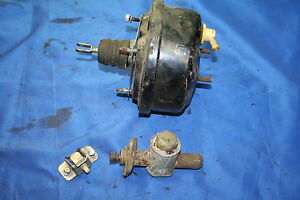Austin Marina Original Brake Booster And Clutch Master Cylinder