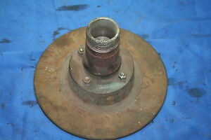 Mg Mgb 68 80 Lh Front Wire Wheel Hub Assembly
