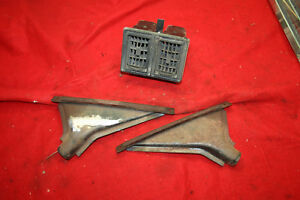 Mg Mgb Original Heater Vents And Defroster Nozzles