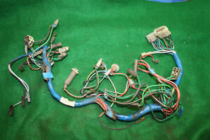 Mg Mgb 77 80 Dashboard Sub Wire Harness Assembly