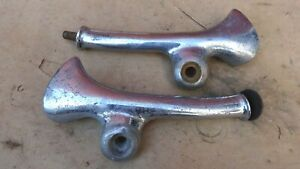 1934 1935 Chevy Standard Headlight Stands Mounts Original Gm Pair