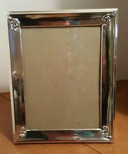 Vintage Sterling Silver Frame For 9 X7 Photo Made In Peru