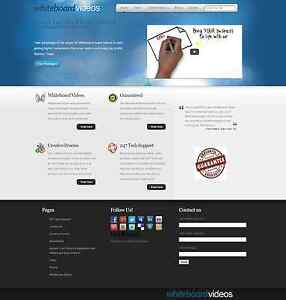 Turnkey Whiteboard Video Business Website Script Autopilot
