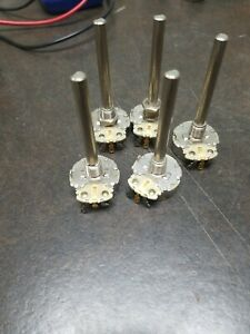 5 X vintage Cts 25k Long Shaft Cts6123