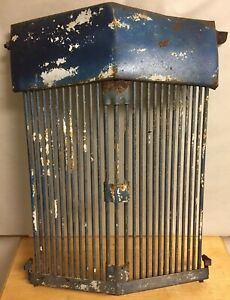 Antique Or Vtg Radiator Grill Cover Rat Rod Car Auto Tractor Truck Steampunk