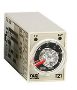Hanyoung Nux T21 Timing Relay Timer 4a4b Select By Dip Switch 24v D c