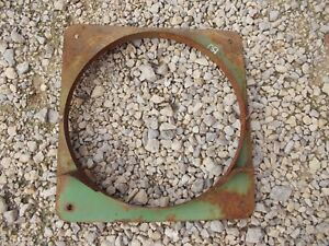 John Deere Bo Tractor Jd Nice Original Radiator Fan Shroud Guard Bo