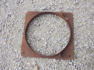 John Deere Bo Tractor Jd Nice Original Radiator Fan Shroud Guard