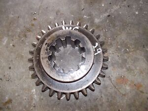 Allis Chalmers Styled Wc Tractor Ac Transmission Top Drive Gear 29 Teeth