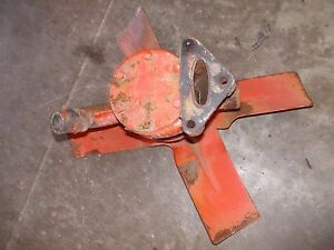 Allis Chalmers Wd 45 Wd45 Tractor Orgnl Ac Engine Motor Water Pump Assembly Fan