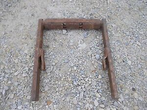 Allis Chalmers Wd Wd45 45 Tractor Niice Ac Snap Coupler Drawbar Draw Bar Support