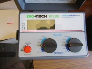 Isotech 17th Edition Electrical Installation Test Kit 3 Testers J11 8212093