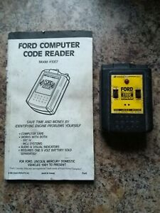 Equus Model 3007 Ford Computer Ecm Code Reader Used 1981 To 1995 Ford Lincoln