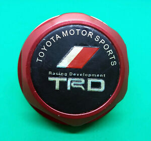 Toyota Racing Development Trd Engine Oil Cap Oem Jdm Used