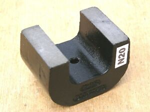 Alnico 5 Horseshoe Power Magnet Black 24 Oz General 70 Lb Pull