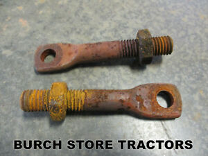Pair Of Light Mounts Or Brackets For Ih Farmall Cub And Cub Loboy Tractors