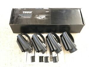 New Thule 450r Rapid Crossroad Roof Mounted Railing Foot Pack Nib
