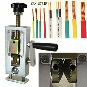 Hand Crank Copper Wire Stripper Machine Metal Recycling Scrap Cable Stripping