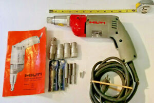 Hilti Tk 1 Screw Gun 115vac 4 5 Amp 1 4 Fastener Drywall Self tapping Usa