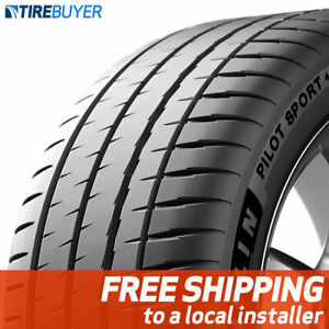 2 New 255 40zr18xl Michelin Pilot Sport 4 S Tires 99 y
