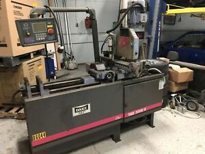 Dake Mep Tiger 350cnc Fe Ferrous Cold Saw under Power video Available