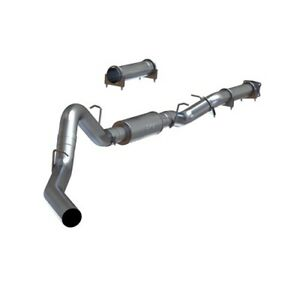 Mbrp S6000p 4 Cat Back Exhaust System Kit 01 05 Chevy gmc Duramax 6 6l Diesel