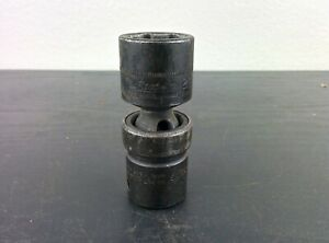 Ad434 Snap On Iplm21 21mm Shallow Universal Swivel Impact Socket 1 2 Drive 6pt