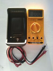 Bk Precision Multimeter 2860 With Leads