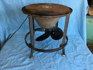 Vintage Hunter Fan For Milk Can Cooler Steampunk Repurpose