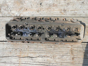 65 Chevy 283 Cylinder Head 3884520 327 Hot Rod Impala Bel Air Truck Small Block