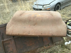 1957 Chevrolet 3100 Pickup Hood Truck Steel Rat Rod Restoration Ribbed 55 56