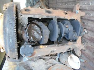 Ford V8 Flat Head Engine 21 Stud Flathead Hot Rod Rat Motor Rebuild Crank Block