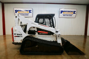 2014 Bobcat T750 Skid Steer Track Loader 85 Hp Float Tipping Load Of 9 500lbs