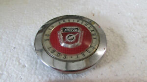 Vintage 1953 Ford Tractor 50th Anniversary Crest Logo Steering Wheel Horn Button