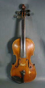 1937 Antonius Stradivarius Model 4 4 Concert Masters Soloist Violin Viola Fiddle