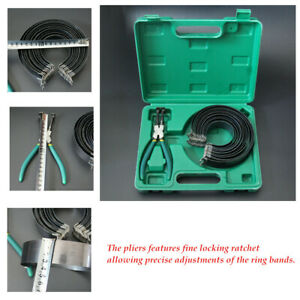 15pcs set Car Piston Ring Disassembly Tool Widening Assembly Pliers Storage Case