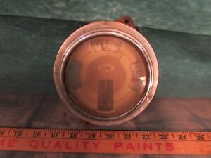 Old Ford Dash Gauge Battery Oil Used Take Out