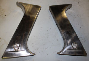 1962 Amc Rambler Ambassador C Pillar Trim Moldings