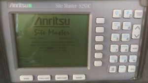 Anritsu Site Master S251c Cable Antenna Analyzer