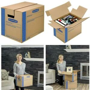 Bankers Box Smoothmove Prime Moving Boxes Tape free Fastfold Easy