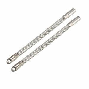 2pcs 100mm Flexible Fish Tape Leader Wire Cable Puller For 4mm Wire Puller