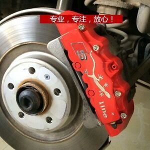 Audi S line A1 A2 A3 A4 A5 A6 Q3 Q5 Tt Style Disc Brake Calipers Covers Brembo
