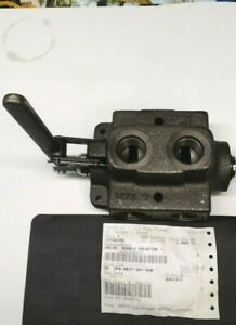 Part 10725382 Lull Material Handler Double Selector Valve New