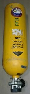 Firefighter Scott Air Tank Air Only 2216 Psi Our 2