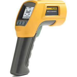 Fluke 572 2 Ir And Contact Thermometer 22 1652f Range 60 1 Ratio
