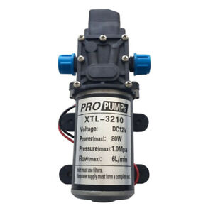 Portable High Pressure Quick Car Cleaning Water Pump Blue 12v 80w