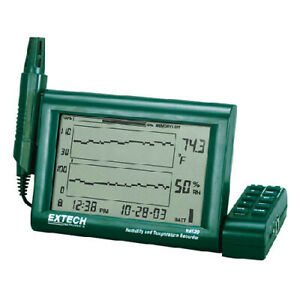 Extech Rh520a 240 Humidity Chart Recorder W detachable Probe 240v