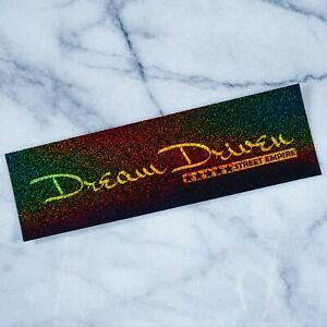 Dream Driven Glitter Slap Stickers Car Decal Vinyl Camber Stance Jdm Tuner Japan