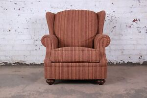 Stickley Wingback Lounge Chair